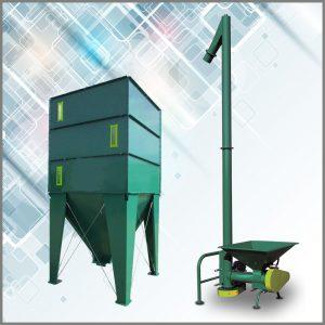Силос и вертикальный конвейер